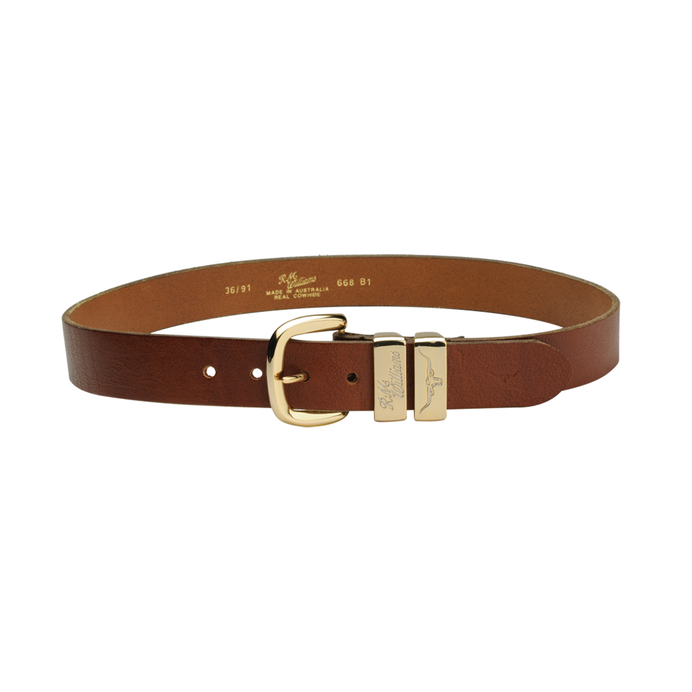 CB668Brandy Dunolly Belt