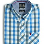 Clove Check Shirt Cadet Blue