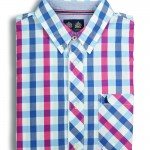 Clove Check Shirt Ensign Red