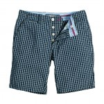 Pattern Short Navy