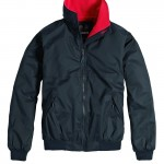 Snug Blouson Navy Red