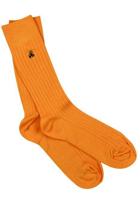 Tangerine Orange Bamboo Socks